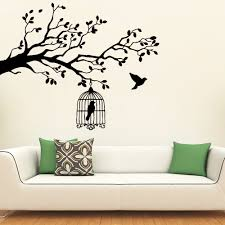 Cartoon Style Bird Wall Stickers Wall Decor For Living Room Kids Room Wall Ebay