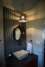 style industrial bathroom elements