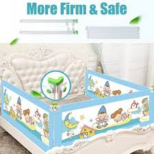 32 3 X 78 8 Baby Bed Fence Bed Rail Adjustable Kid Playpen Safety Gate Child Care Barrier For Bed Crib Rails Security Fencing Children Guardrail Walmart Canada