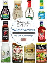 low point salad dressings weight