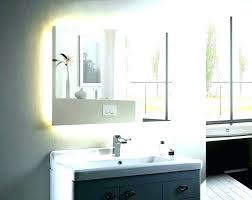 light above mirror bathroom vanity led