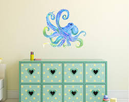 Octopus Decal Etsy