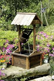 outdoor patio water fountain with pump