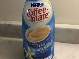 coffee mate french vanilla fat free