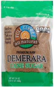 full circle cane premium raw demerara