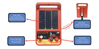 Red Snap R Esp3m Rs 3 Mile Solar Low Impedance Charger Energy Systems For Sale