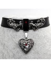 pu leather choker necklace