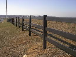 Prizm Vinyl Fences Style 3 Rail Ranch Color Chestnut Ranch Fencing Fence Prices Fence Styles