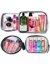 clear cosmetic makeup bags travel