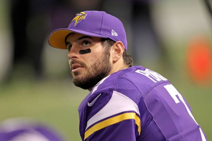 Image result for Christian Ponder Braces For First Career Start For The Minnesota Vikings""