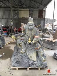 stone statue black granite sun wukong