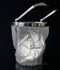 ice bucket vintage wmf iceberg shaped