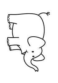 Kleurplaat Olifant Afb 17581 In 2020 Olifanten Kleurplaten