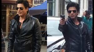 dilwale shahrukh khan gangster look