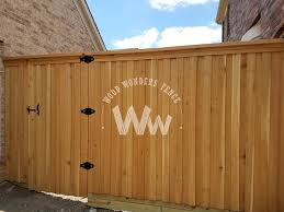 Cedar Fences Wood Wonders Fence Plano Tx 972 349 1444