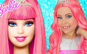 barbie doll kids makeup alisa pretend