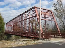 George Street Bridge in Aurora, Indiana | Historic Places -  Historicplaces.net