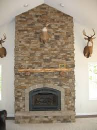 28 cultured stone fireplace designs