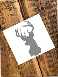 Deer Yeti Rtic Ozark Tumbler Colster Decal Etsy