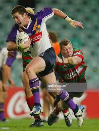 Dustin Cooper of the Storm in action during the round 14 NRL match... News  Photo - Getty Images
