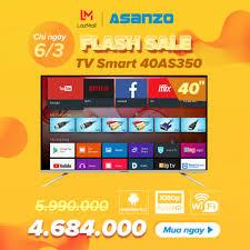 Shop bán Smart Tivi 40 inch Full HD Asanzo 40AS350 (Android Tivi ...