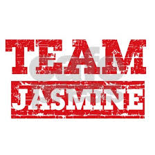 Team Jasmine 20x12 Oval Wall Decal By Mmam Cafepress