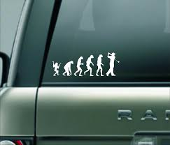 Evolution Of A Golfer Vinyl Decal Golf Decal Golf Sticker Etsy Vinyl Decals Large Decal Vinyl