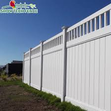 China Hot Sale White Color Pvc Solid Panel Fence Private Fence Pvc Privacy Fence China Vinyl Fence Pvc Fence Supplier