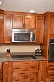 54 pecan wood cabinets designer