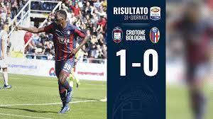 Seria A, 31a giornata: Crotone-Bologna 1-0
