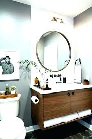 circular bathroom mirrors mirror