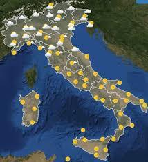 Previsioni del Tempo Meteo oggi domenica 21 luglio 2019 in Italia