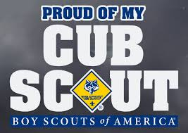 Proud Of My Cub Scout Window Decal Boy Scouts Of America