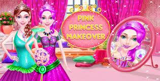 pink princess makeup salon