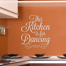 Amazon Com This Kitchen Is For Dancing Vinyl Wall Decal Sticker Handmade