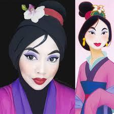 these disney princess make up looks