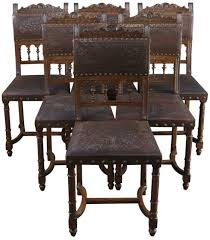 dining chairs antique french henry ii