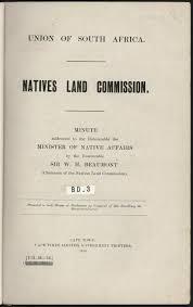 NATIVES LAND COMMISSION. - PDF Free Download