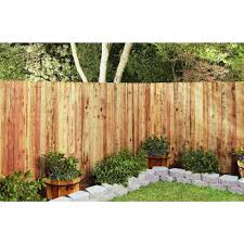 11 16 In X 3 1 2 In X 6 Ft Construction Common Redwood Dog Ear Fence Picket 5 Pk Made From Redwood A Renewable And Recyclable Natural Resource By Mendocino Forest Products Walmart Com Walmart Com