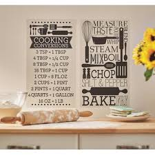 Kitchen Food Beverage Wall Decals You Ll Love In 2020