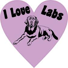 Weimaraner Dog With Heart Car Decal Auto Parts And Vehicles Car Truck Graphics Decals Magenta Cl