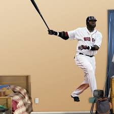 David Ortiz Boston Red Sox Mlb Official Fathead Sticker Wall Decal New Baseball 242651563