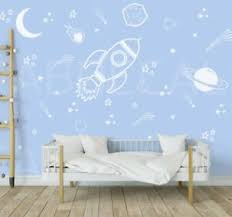 Space Wall Decals Rocket Decal Space Ship Decal Boys Room Decor Outer Space 288 Ebay