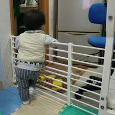 Baby Safety Gate Children Stairs Barrier Infant Child Kids Fence Door Gate Shopee Philippines