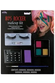 80s rocker makeup kit purecostumes