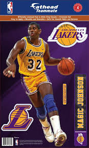 Fathead Los Angeles Lakers Magic Johnson Teammate Wall Decal Dick S Sporting Goods