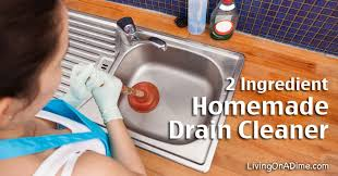 homemade cleaners living on a dime