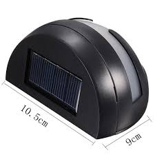 Solar Outdoor Led Light Waterproof Fence Wall Lamp On Sunnybunny