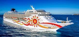 norwegian cruise line pletes three