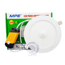 Đèn LED âm trần Panel cảm biến chuyển động 12W MPE